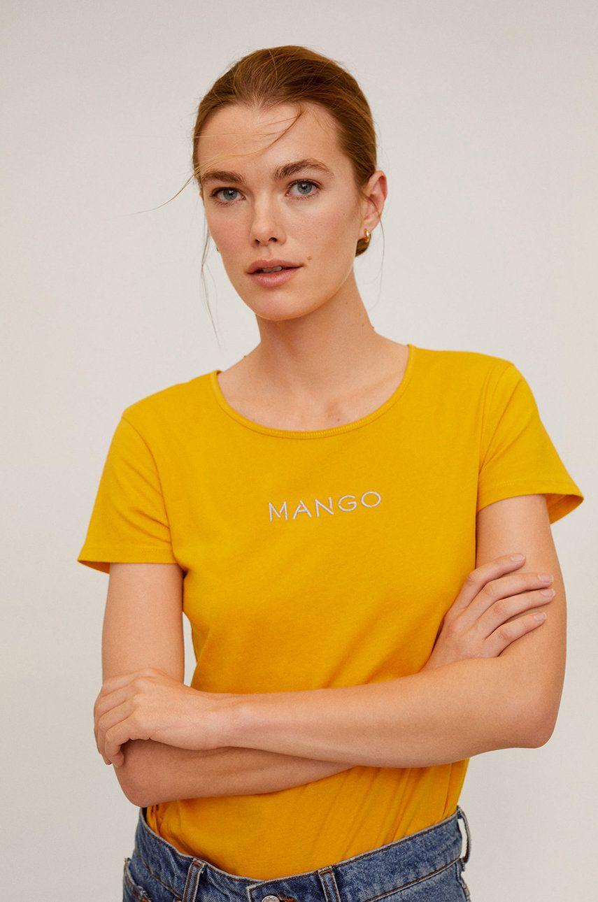 Mango - Tricou Mangolog-H