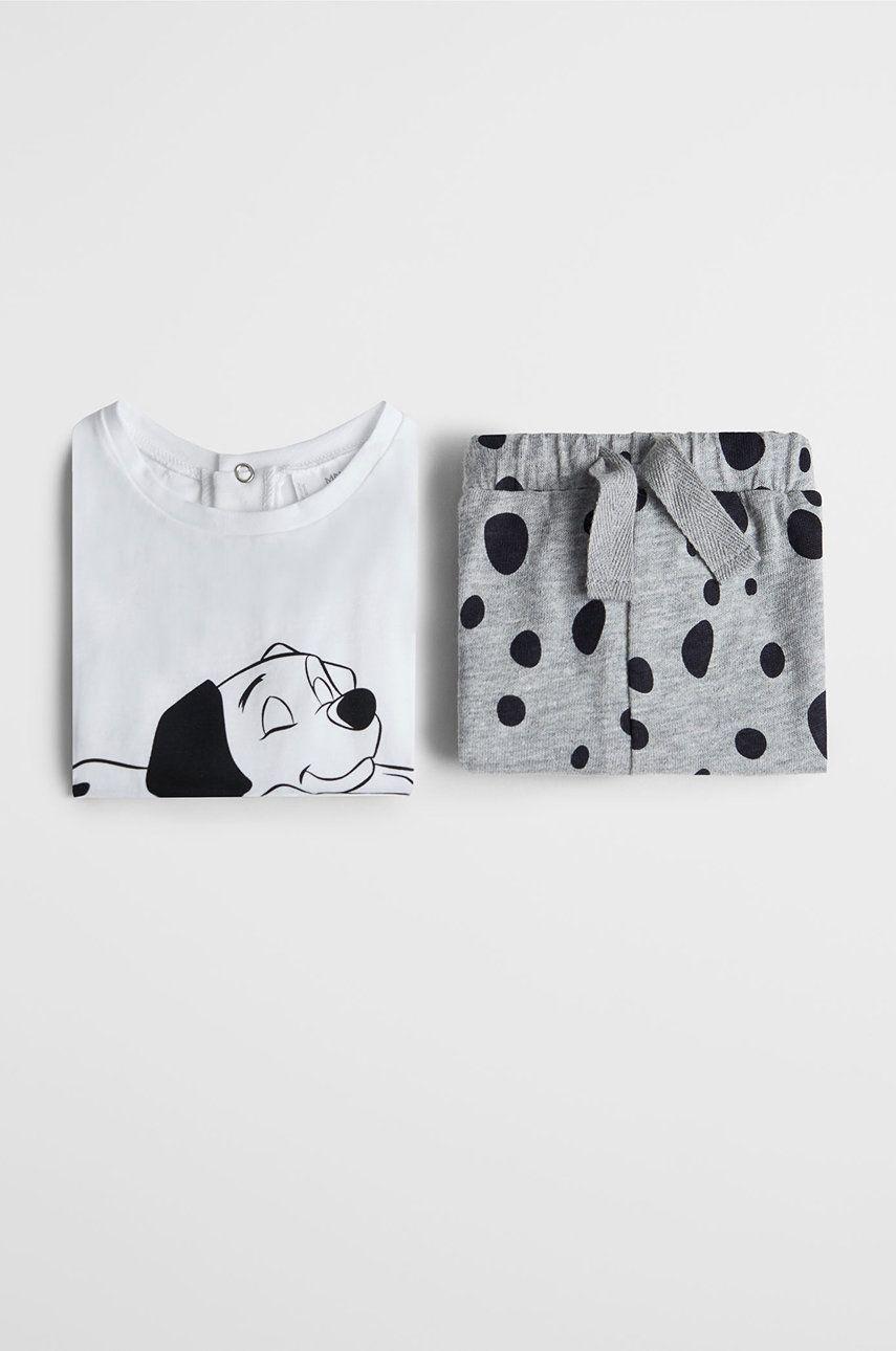 Mango Kids - Pijama copii Dalmata 80-104 cm