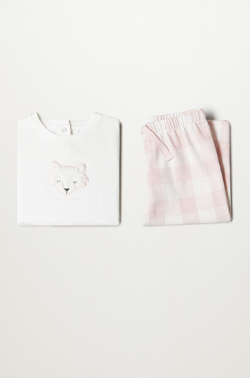 Mango Kids - Pijama copii FOX poza