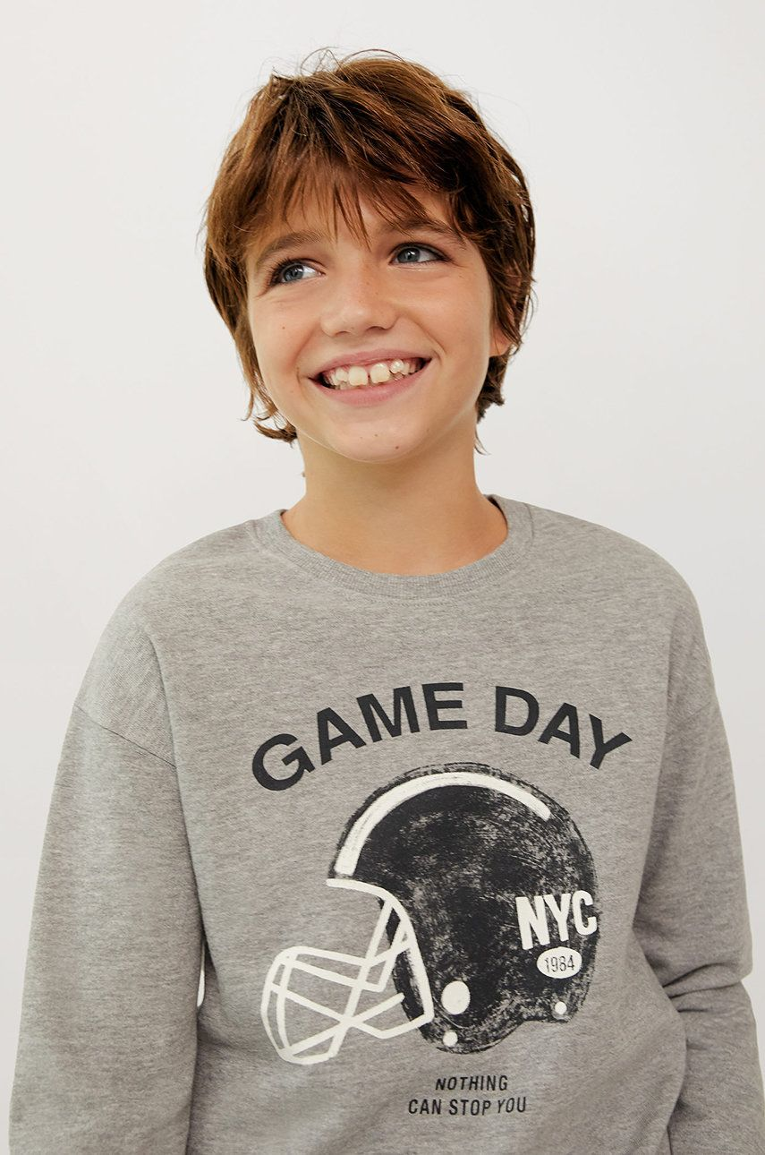 Mango Kids - Bluza copii GAMEDAY imagine