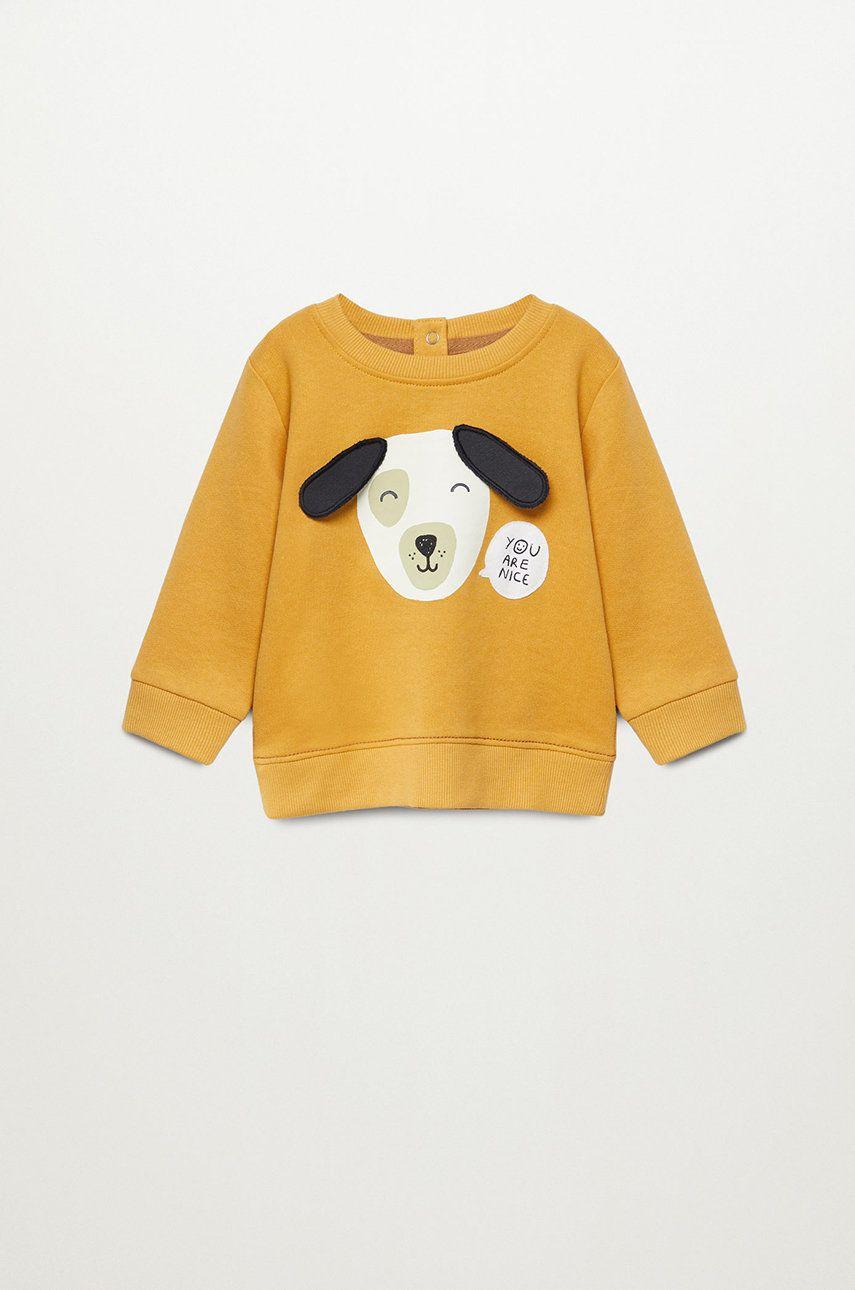 Mango Kids - Bluza copii JEFE imagine