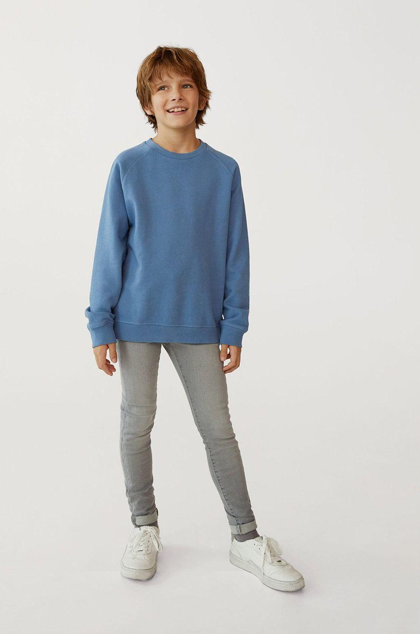 Mango Kids - Bluza copii RAGLAN imagine