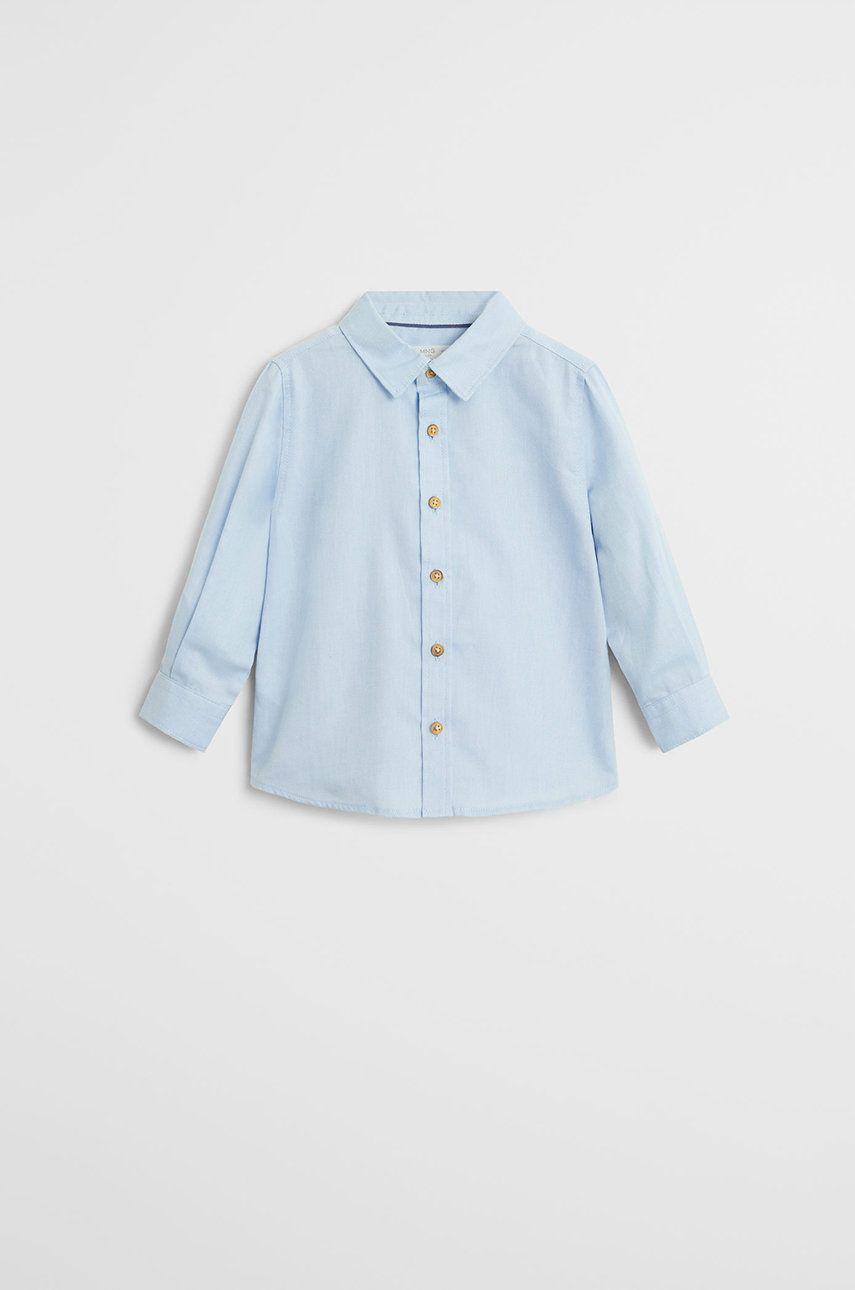 Mango Kids - Camasa de bumbac pentru copii Oxford7 80-104 cm