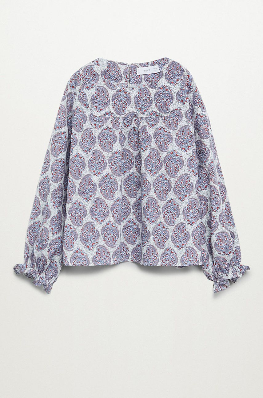 Mango Kids - Bluza de bumbac pentru copii Tilas 110-164 cm