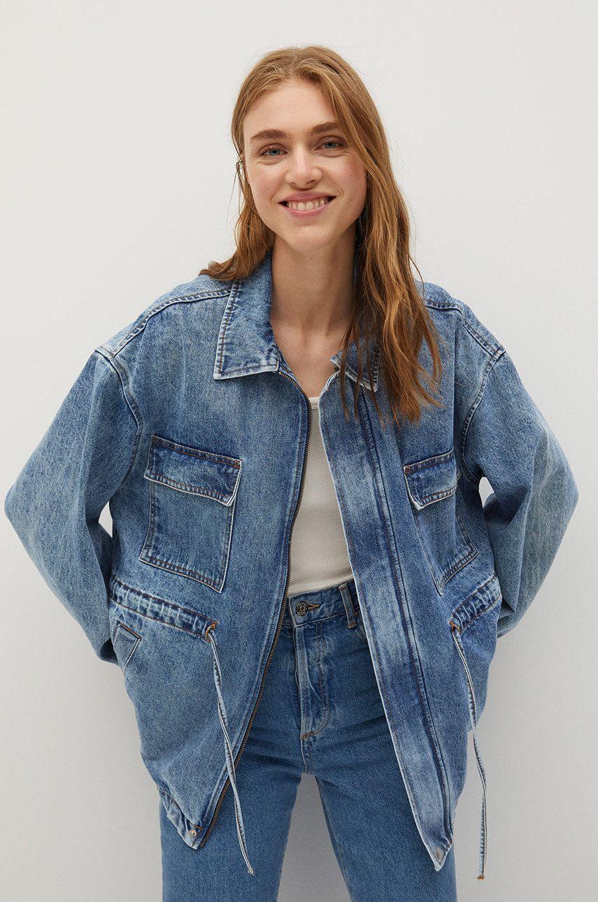 Mango - Geaca jeans Colette