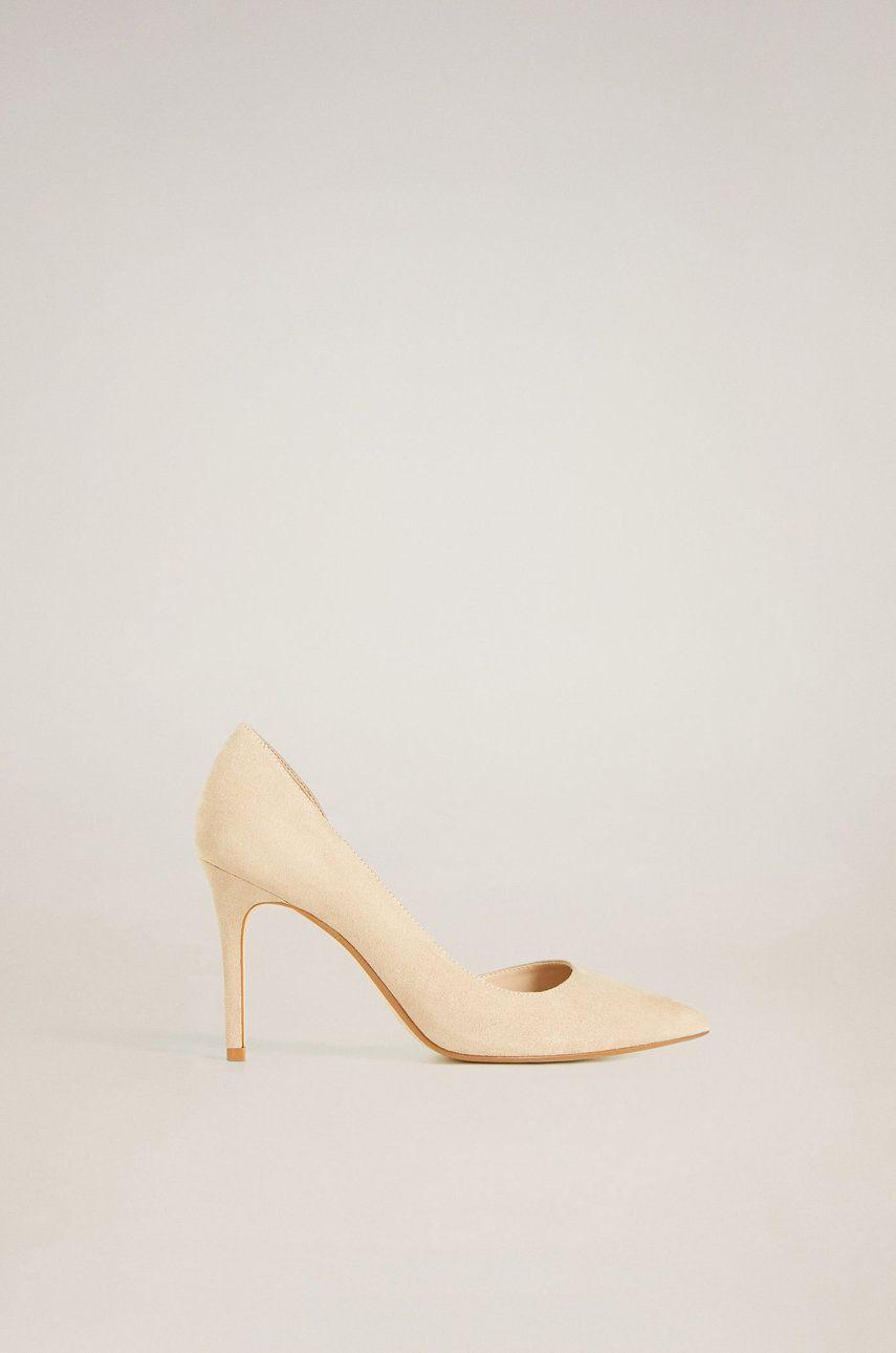 Mango - Pantofi cu toc Audrey