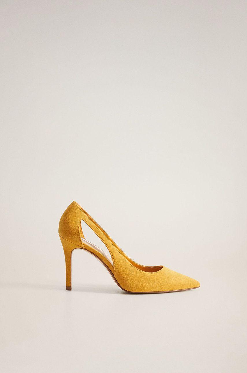 Mango - Pantofi cu toc Every
