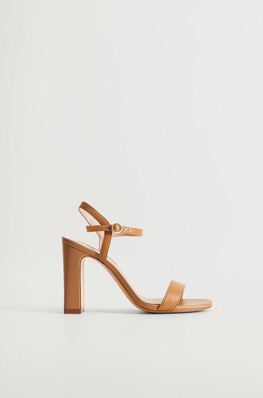 Mango - Sandale de piele AIR