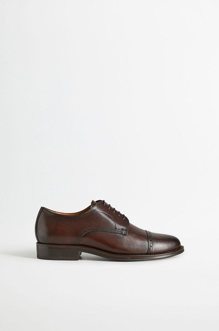 Mango Man - Pantofi de piele Madrid imagine