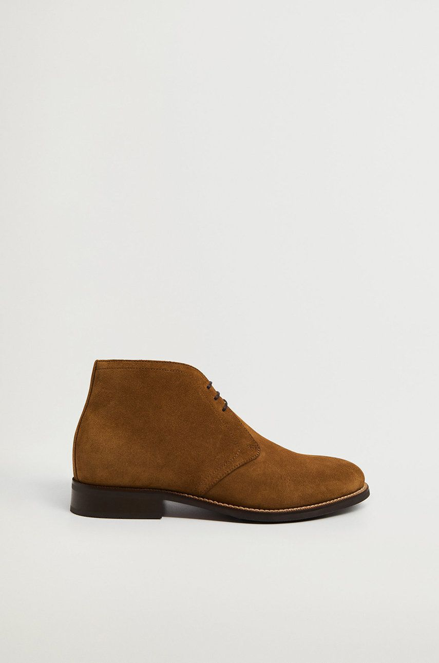 Mango Man - Pantofi de piele intoarsa SAFARI