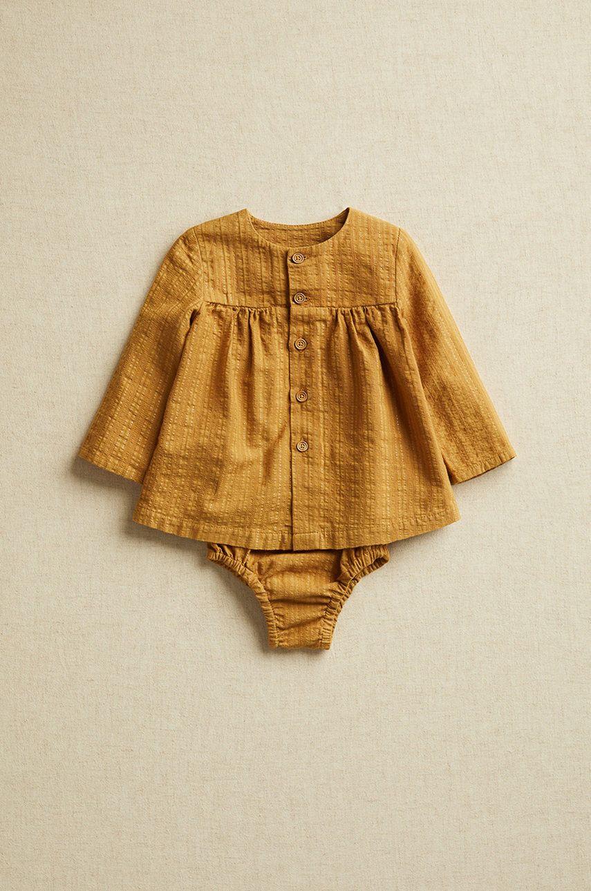Mango Kids - Bluza bebe Brina 62-80 cm imagine