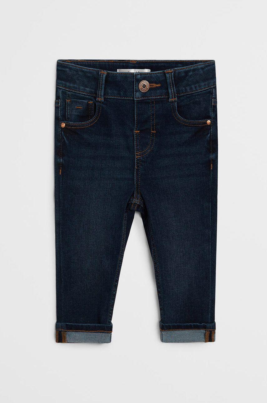 Mango Kids - Jeans copii Diego 80-104 cm