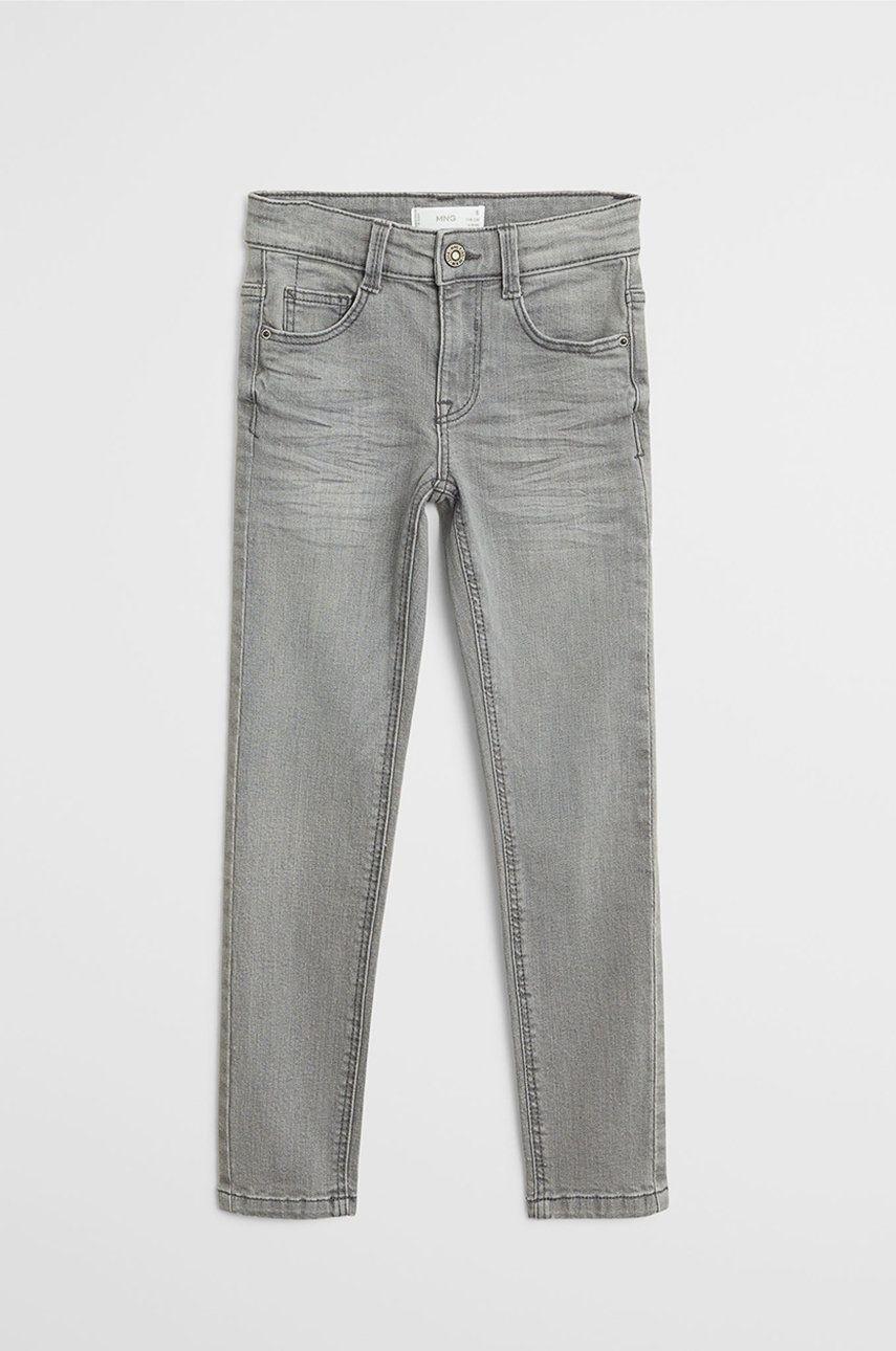 Mango Kids - Jeans copii Slim 116-164 cm de la Mango Kids