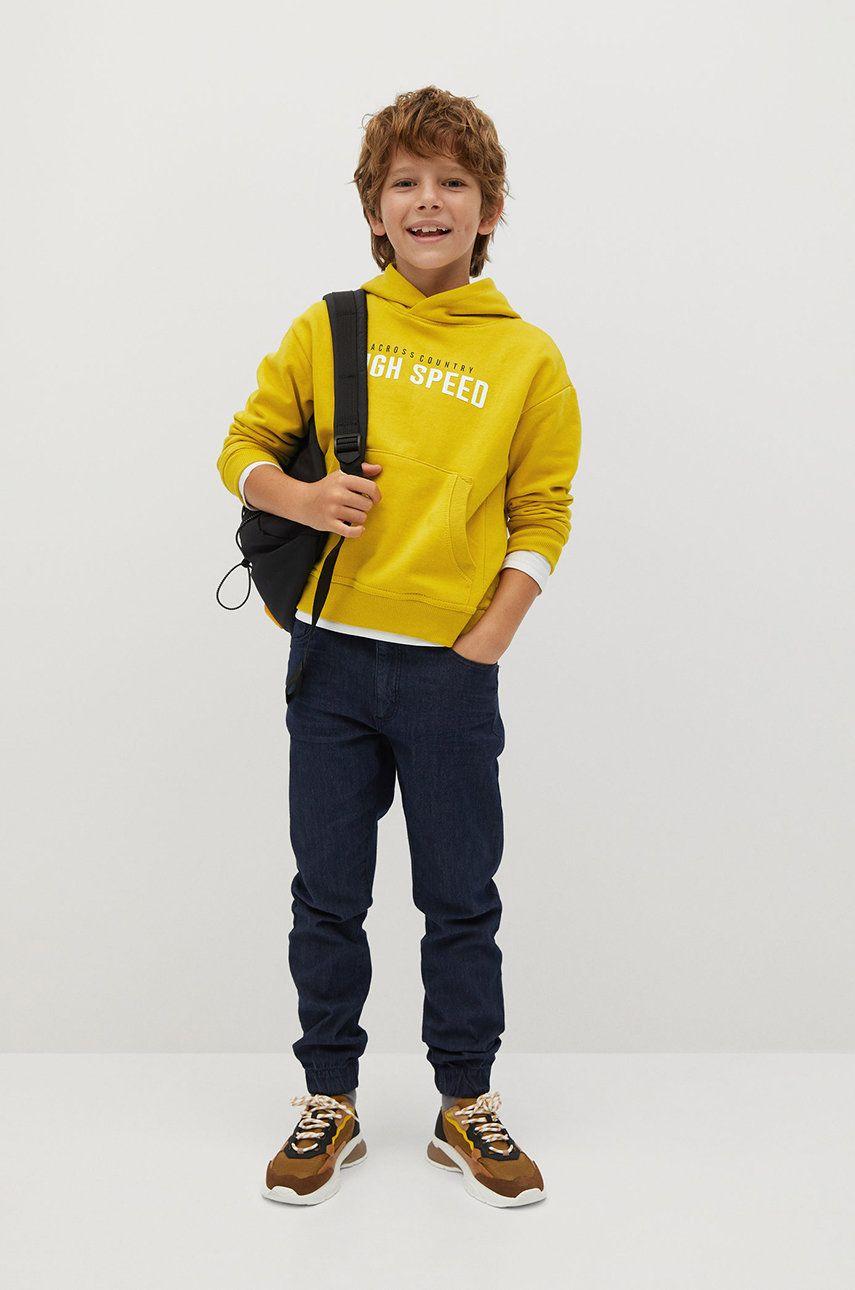Mango Kids - Jeans copii Comfy 110-164 cm
