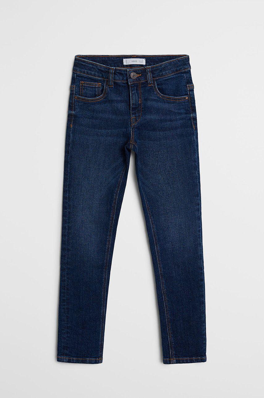 Mango Kids - Jeans copii SLIM answear.ro