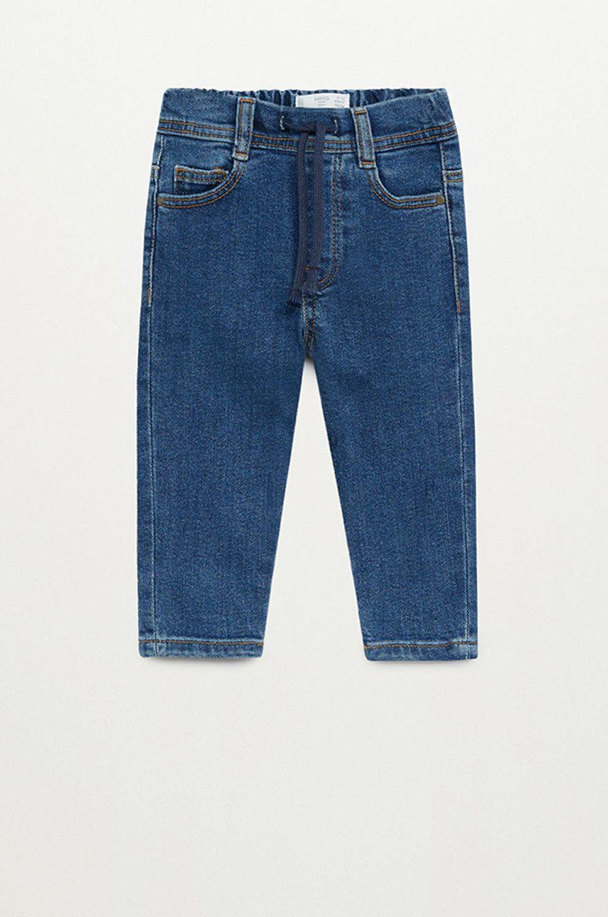 Mango Kids - Jeans copii Cordj 80-104 cm poza answear