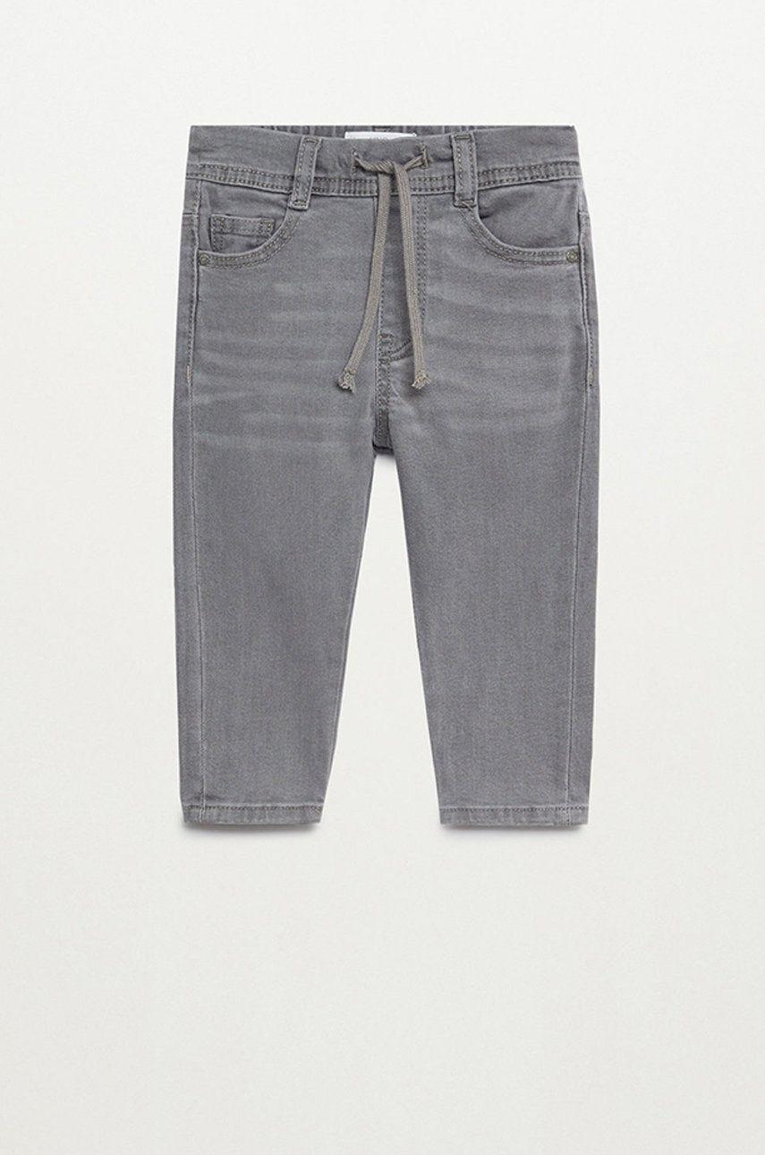Mango Kids - Jeans copii Cordj 80-104 cm