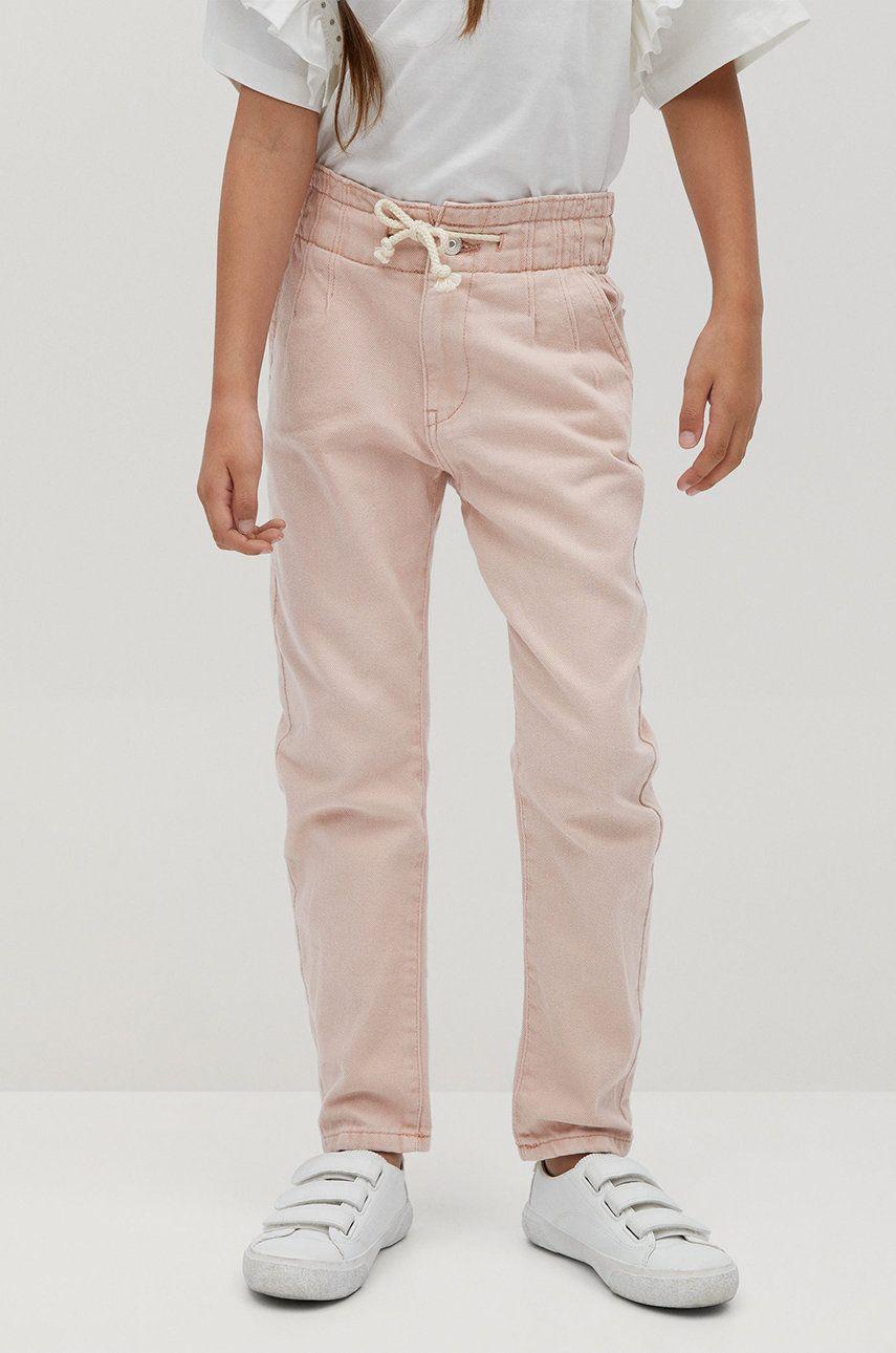 Mango Kids - Jeans copii Loose 110-122 cm
