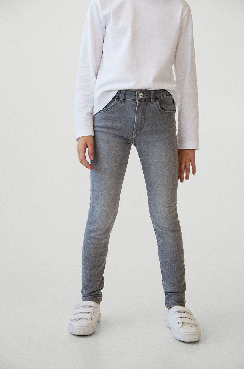 Mango Kids - Jeans copii Skinny 110-164 cm poza