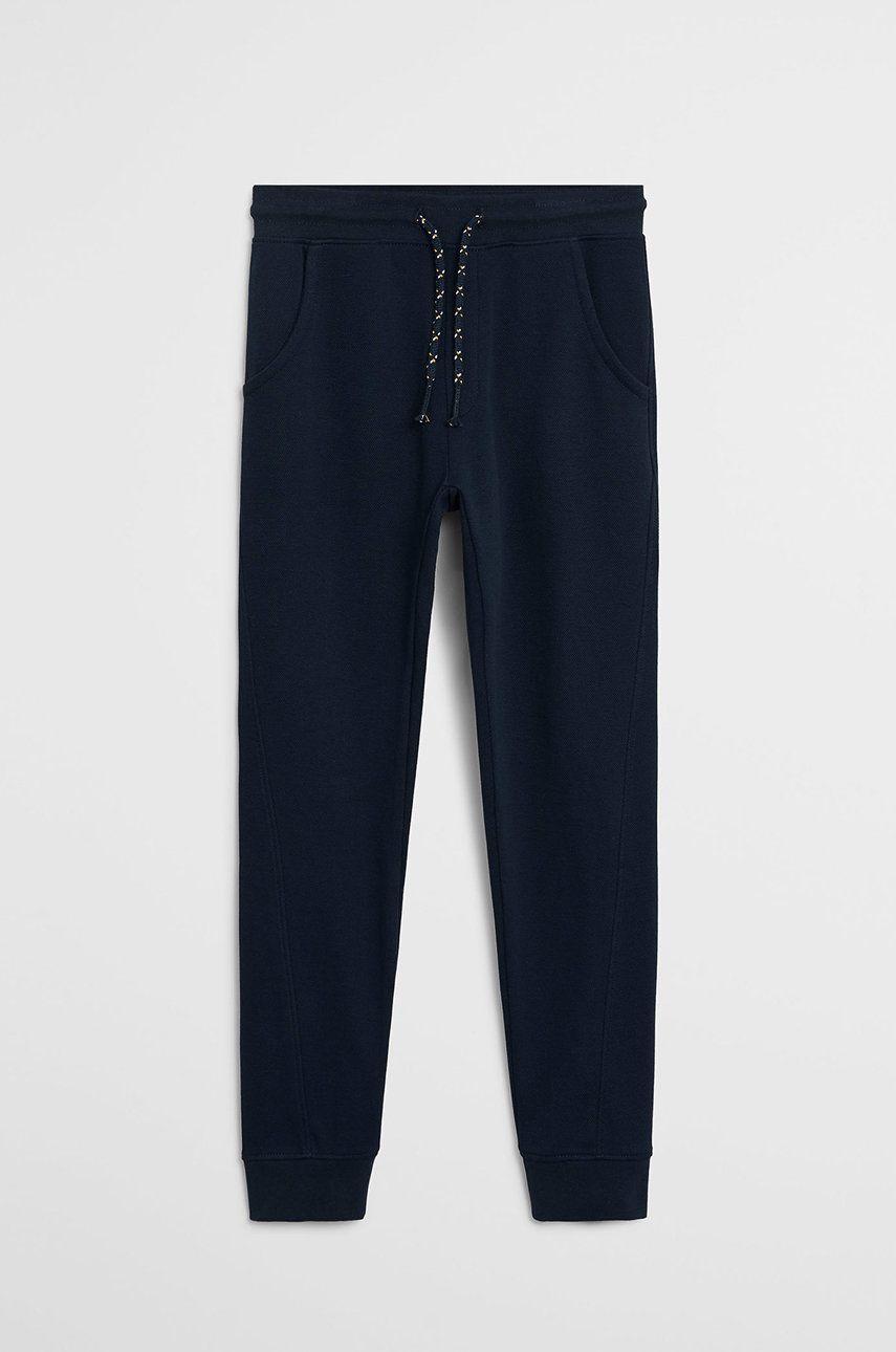 Mango Kids - Pantaloni copii Jumbo 110-164 cm