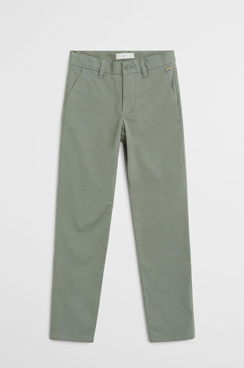 Mango Kids - Pantaloni copii Piccolo 110-164 cm