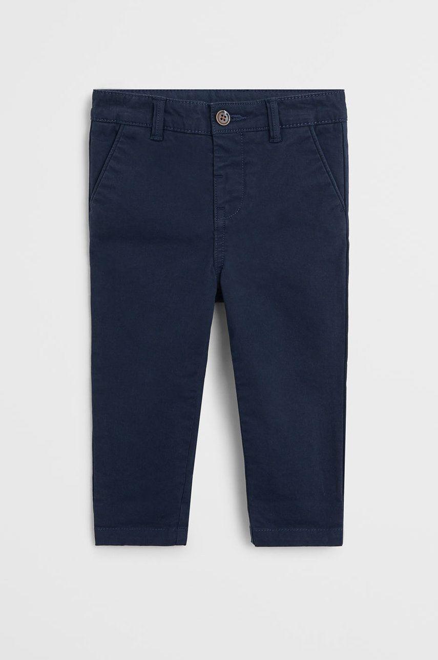 Mango Kids - Pantaloni copii Chino 80-104 cm poza answear