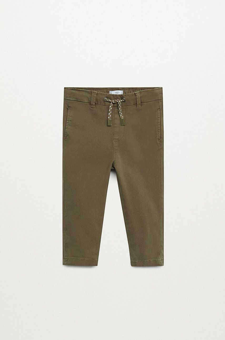 Mango Kids - Pantaloni copii Cord 80-104 cm poza answear