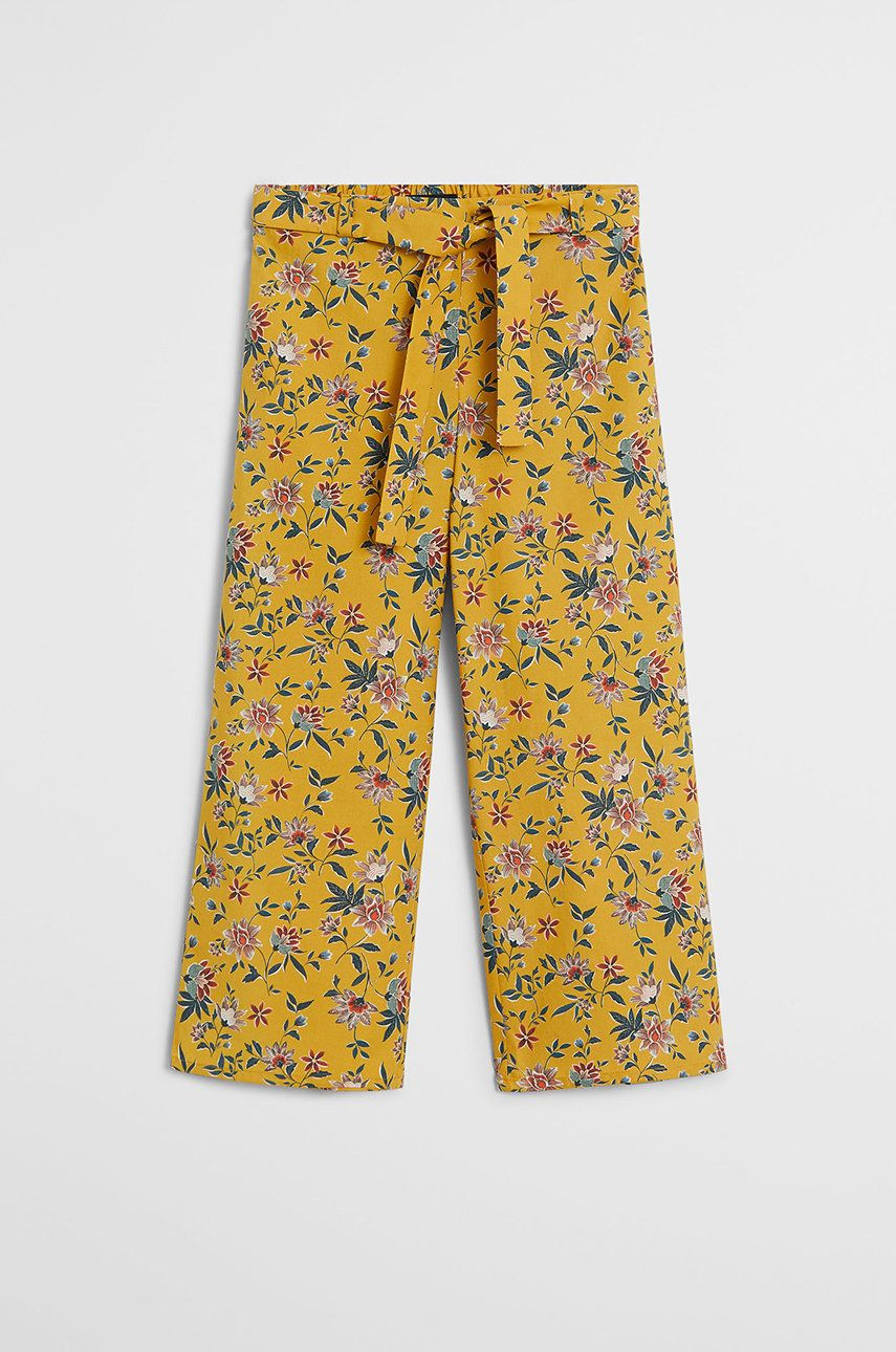 Mango Kids - Pantaloni copii Lucia 110-164 cm de la Mango Kids