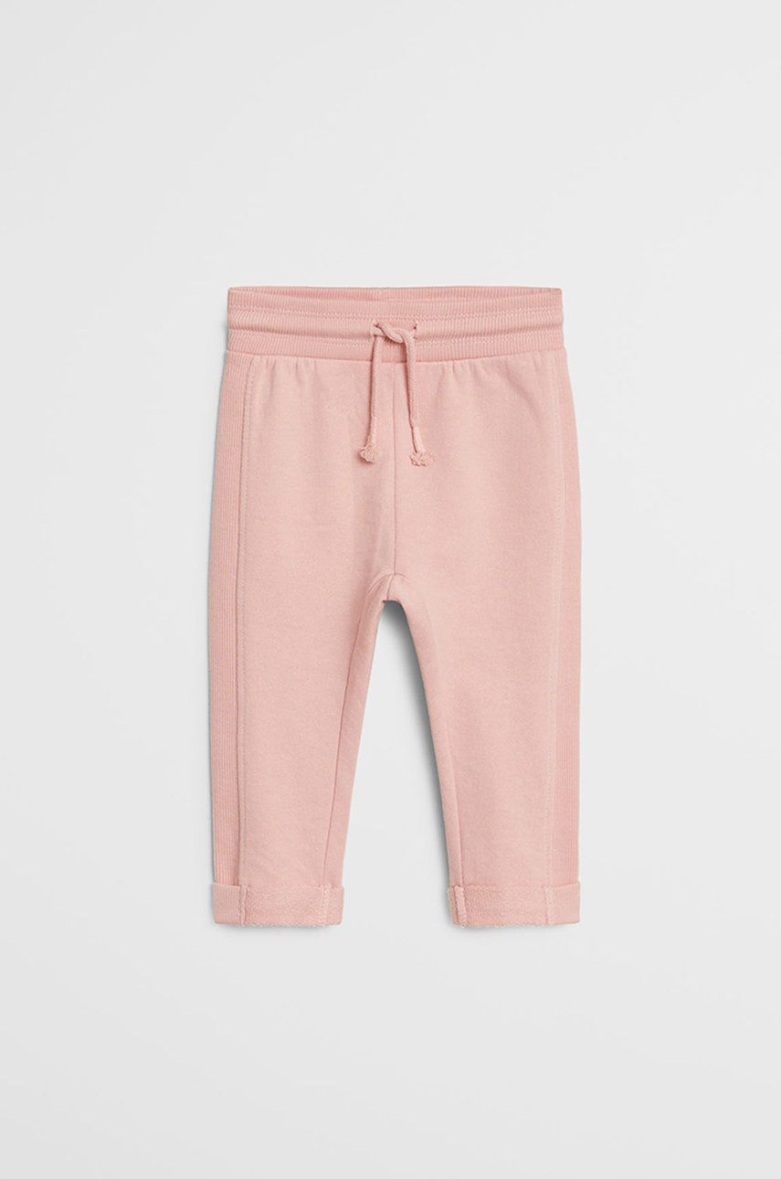 Mango Kids - Pantaloni copii Mires 80-104 cm