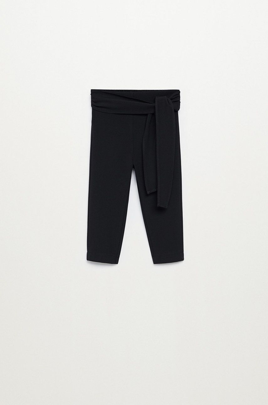 Mango Kids - Pantaloni copii BOW