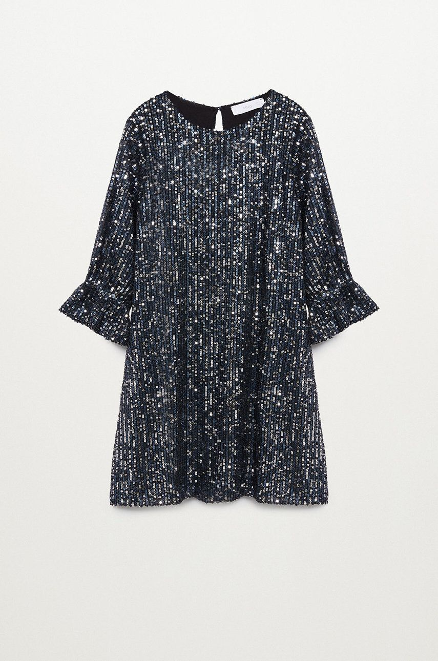 Mango Kids - Rochie fete SEQUIN imagine