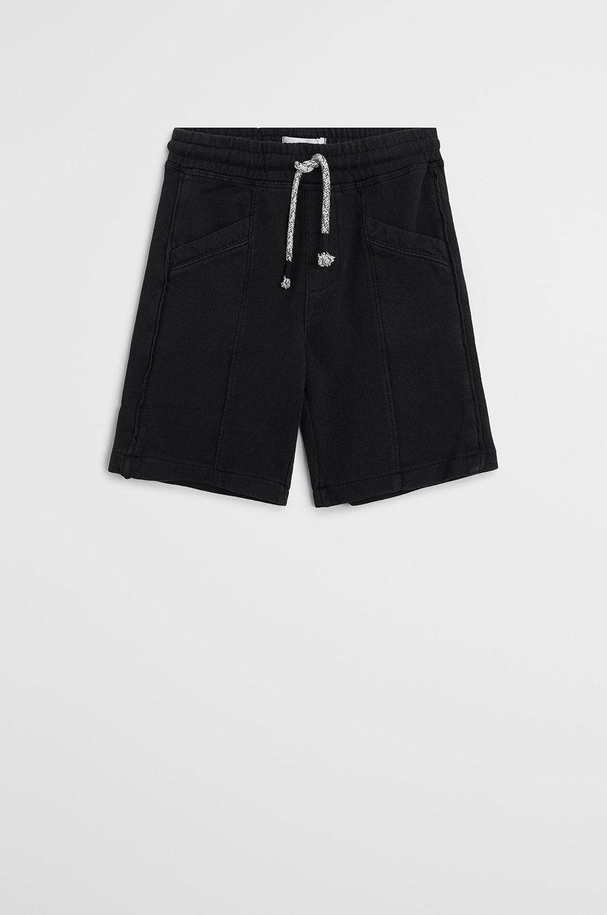 Mango Kids - Pantaloni scurti copii Joseph 110-164 cm