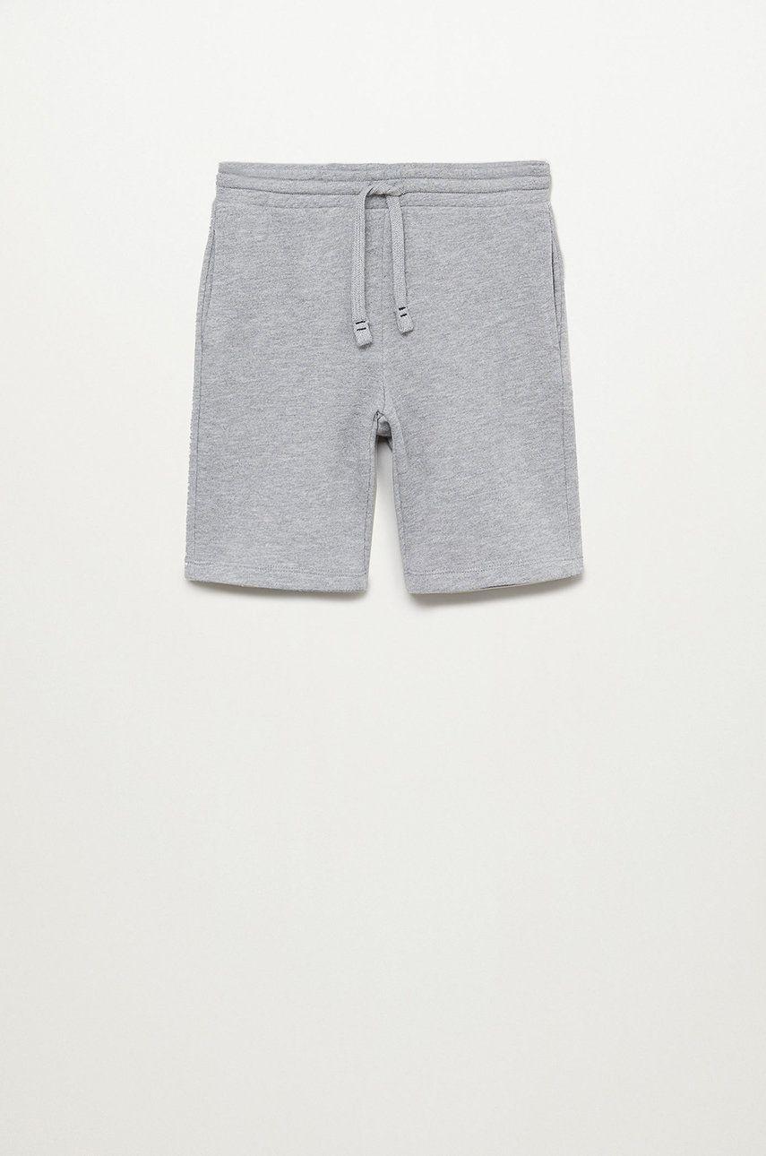 Mango Kids - Pantaloni scurti copii Paris 110-164 cm