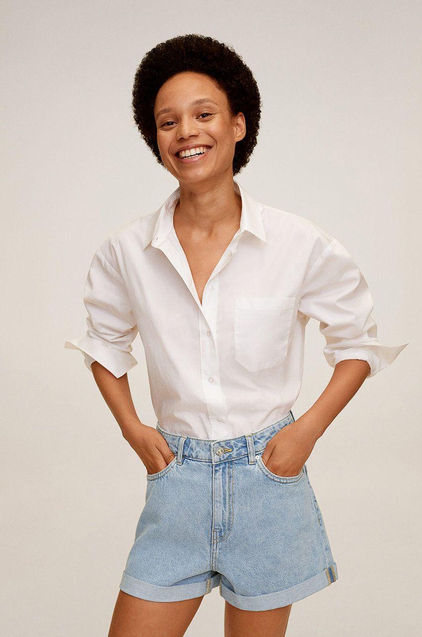 Mango - Pantaloni scurti jeans Bermuda