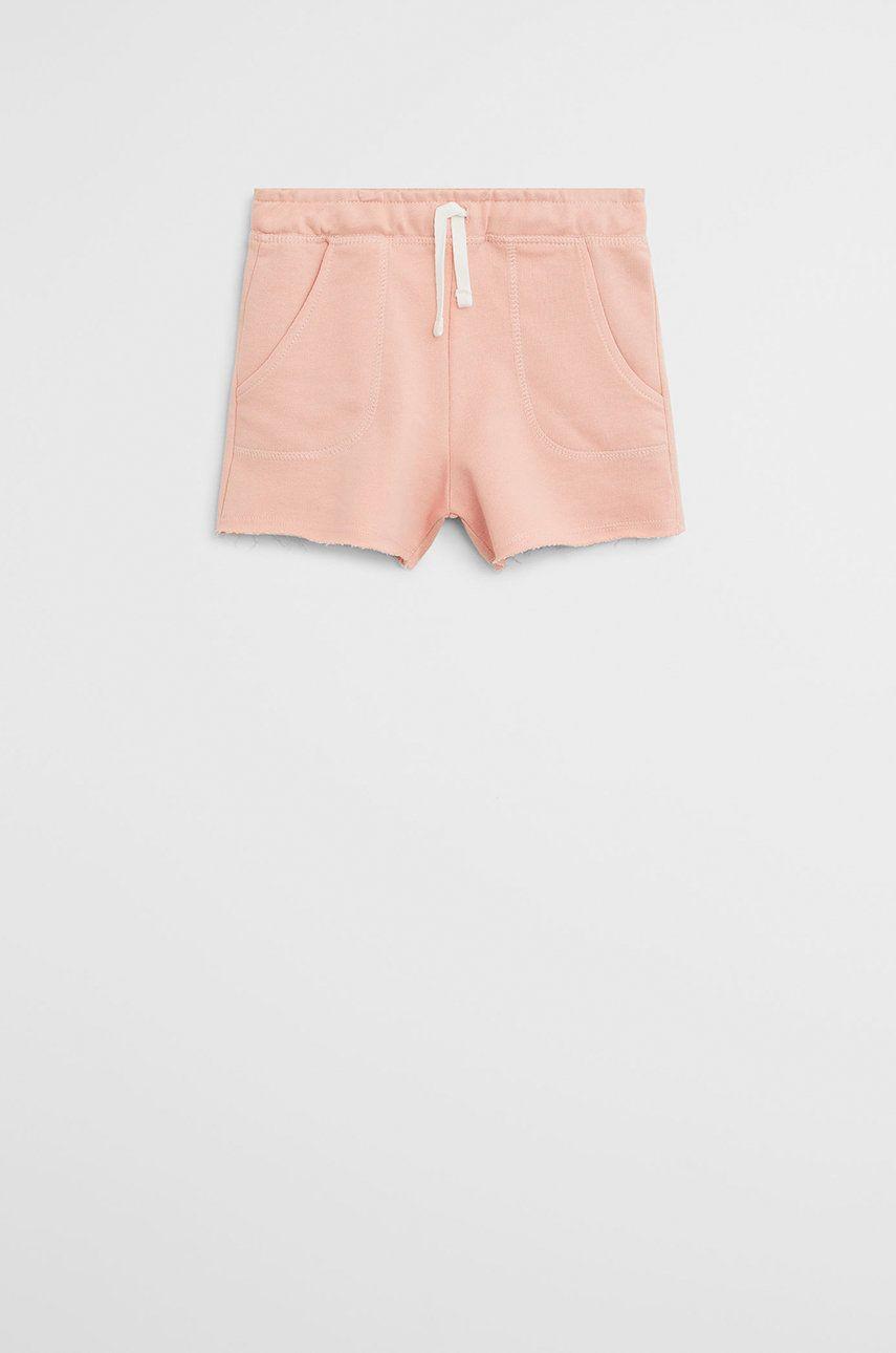 Mango Kids - Pantaloni scurti copii Lea 110-164 cm