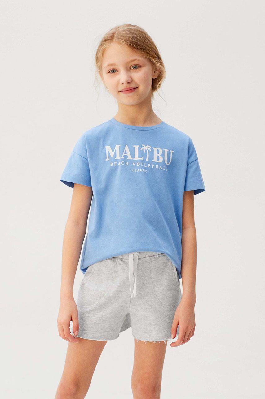 Mango Kids - Pantaloni scurti copii Lea7 122-164 cm