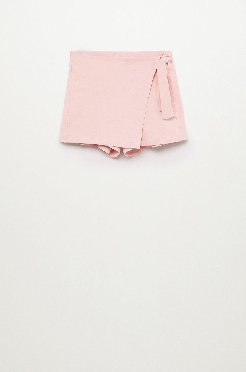 Mango Kids - Pantaloni scurti copii Tenis 116-164 cm