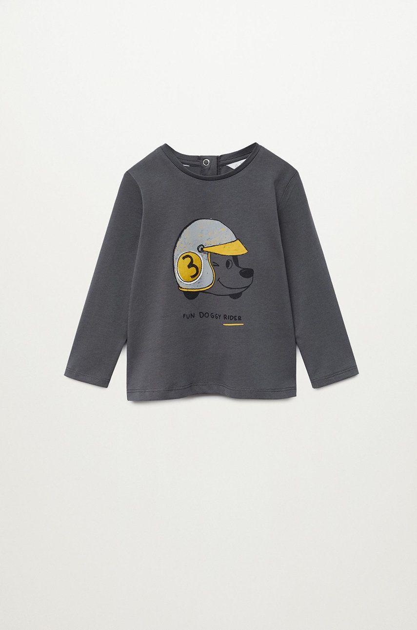 Mango Kids - Longsleeve copii Casco 80-104 cm