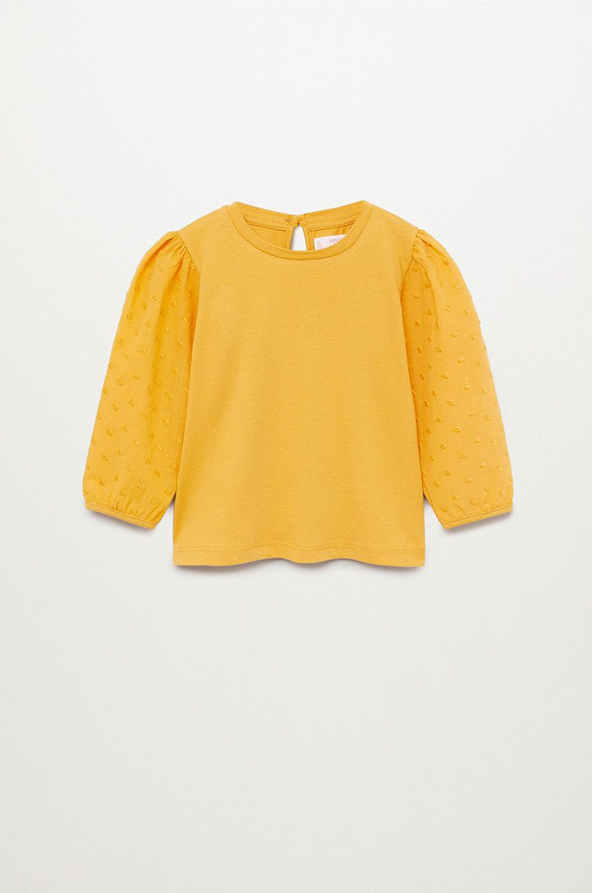 Mango Kids - Bluza copii Plumel 80-104 cm poza