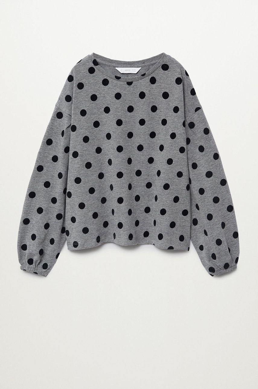 Mango Kids - Longsleeve copii DOTTS