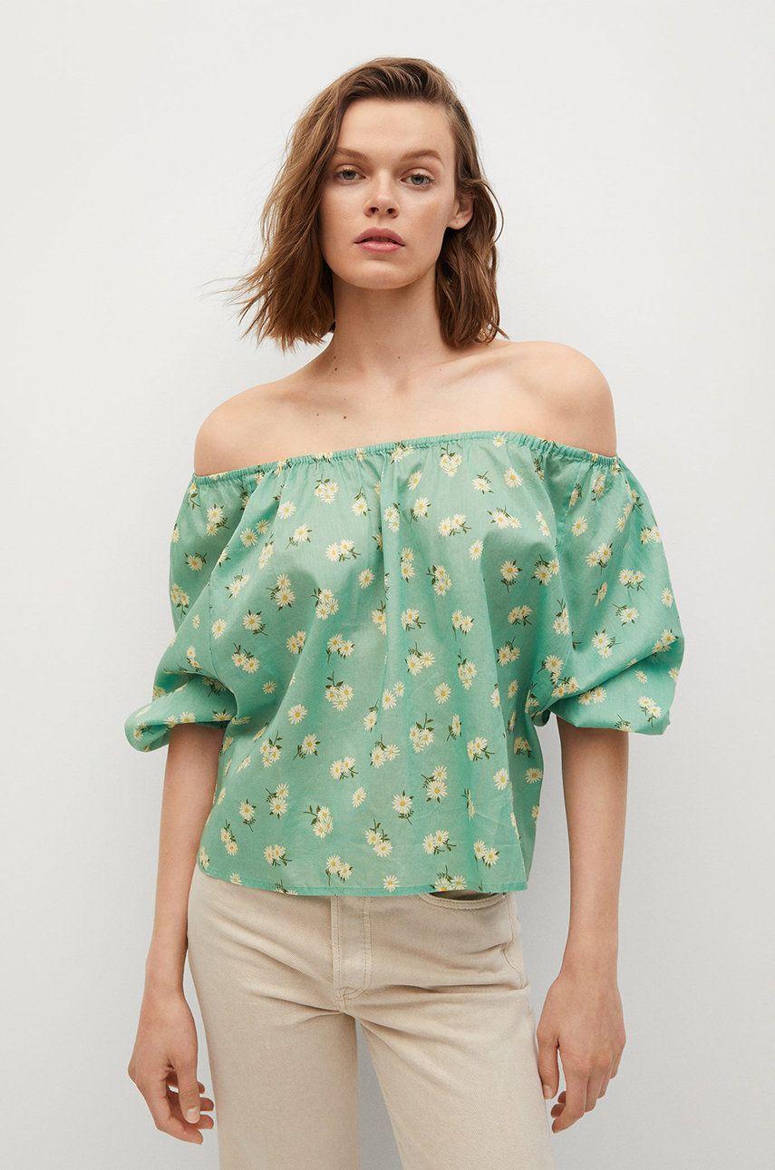 Mango - Bluza din bumbac Pia