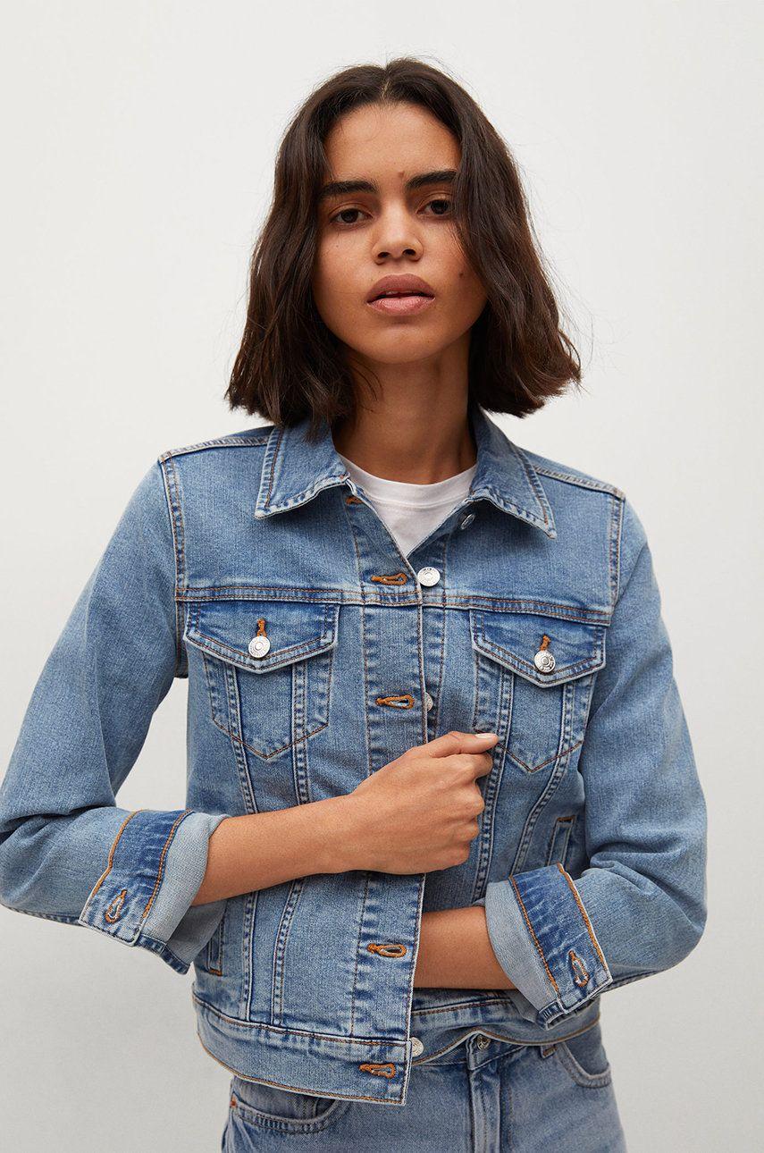 Mango - Geaca jeans