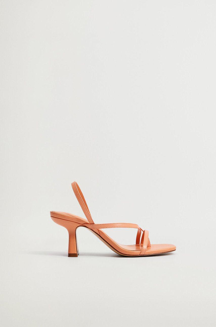 Mango - Sandale de piele YES