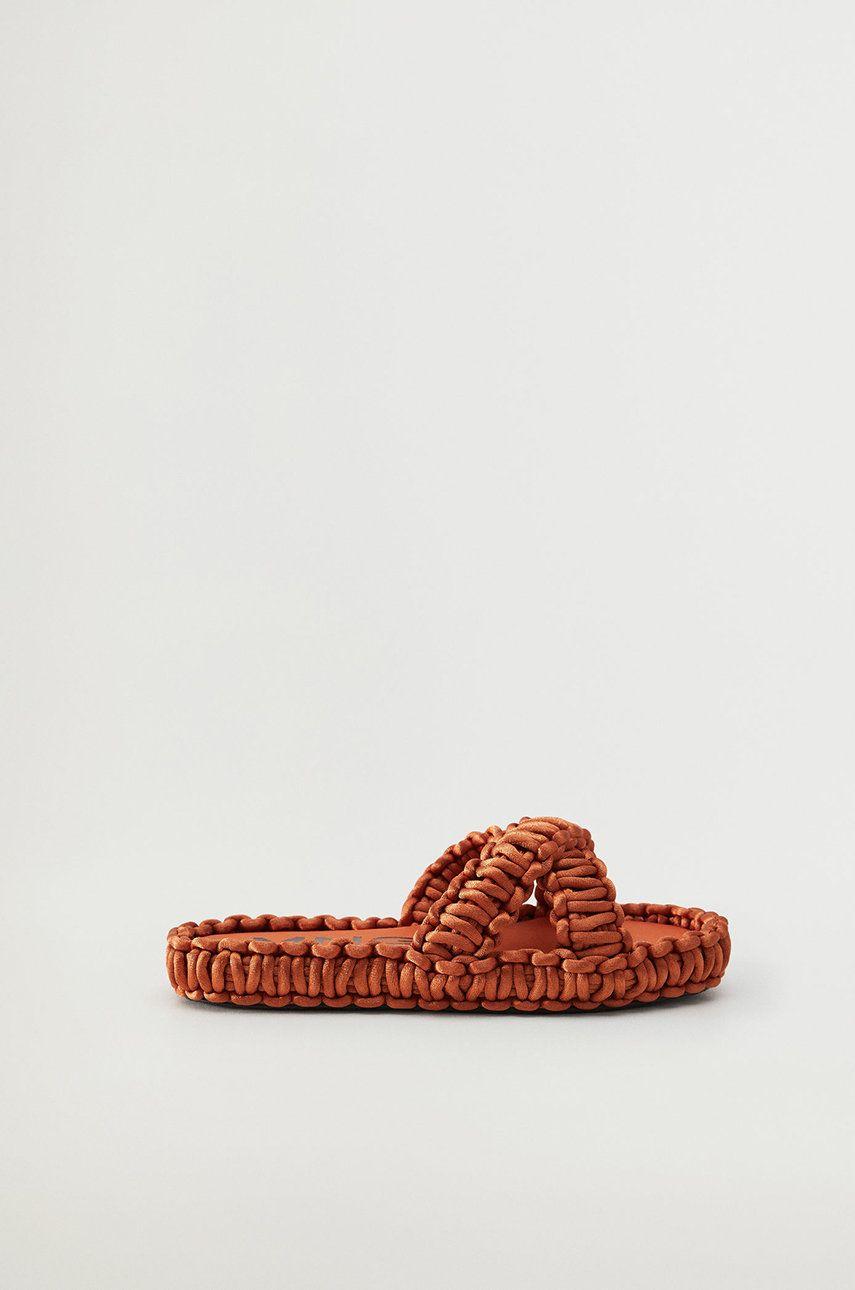 Mango - Papuci CROCHET