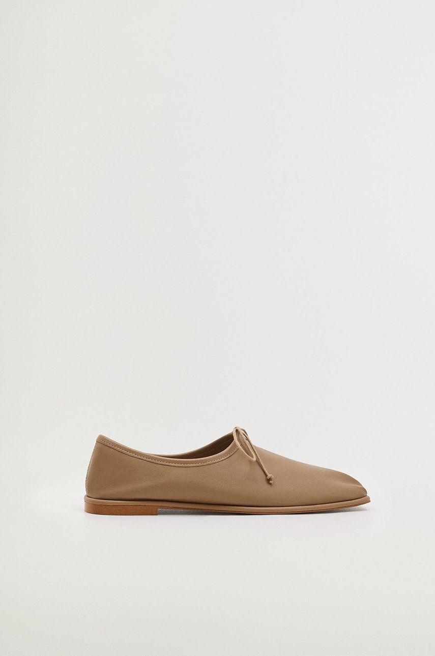 Mango - Pantofi de piele Lanza