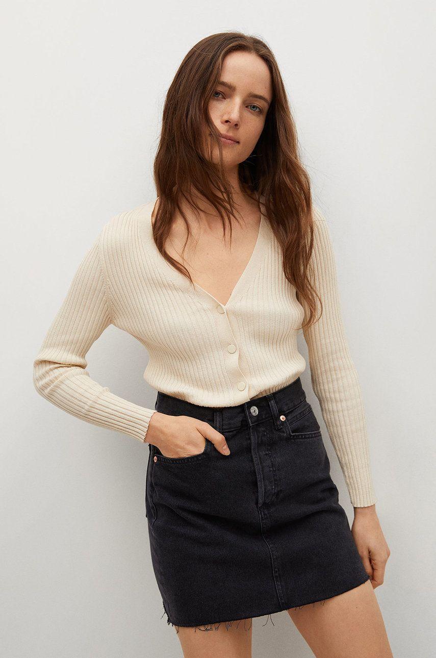 Mango - Fusta jeans Rachel