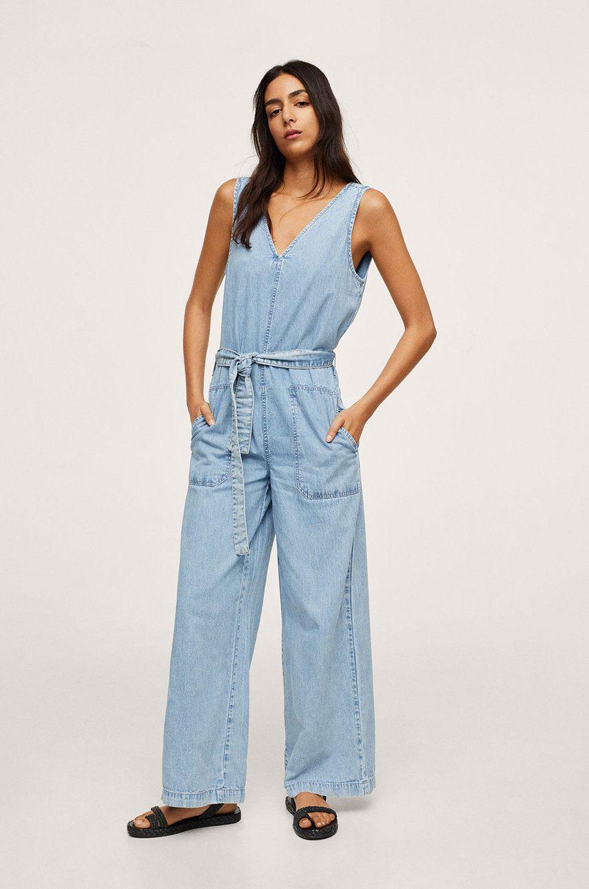 Mango - Salopeta jeans Dalia