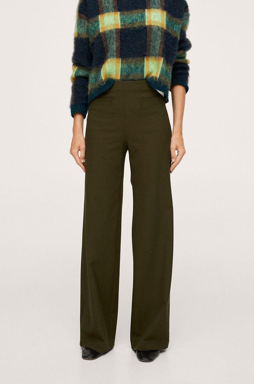 Mango - Pantaloni Farrah