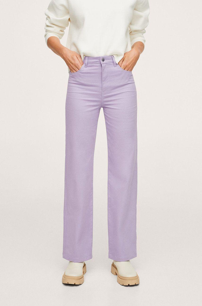 Mango - Pantaloni Julie