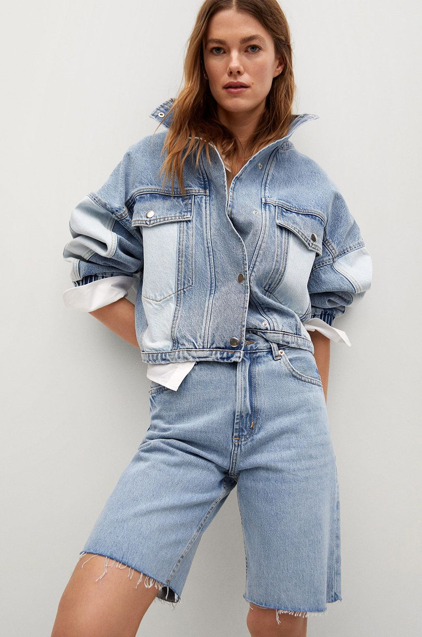 Mango - Pantaloni scurti jeans Ariadna